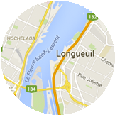 Map Longueuil